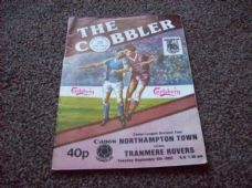 Northampton Town v Tranmere Rovers, 1983/84